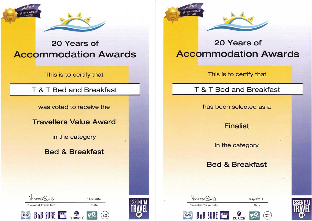 ACCOMMODATION AWARDS 2